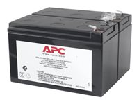 APC Replacement Battery Cartridge #113 - UPS-batteri - 1 x Bly-syra - svart - för Back-UPS RS 1100 APCRBC113